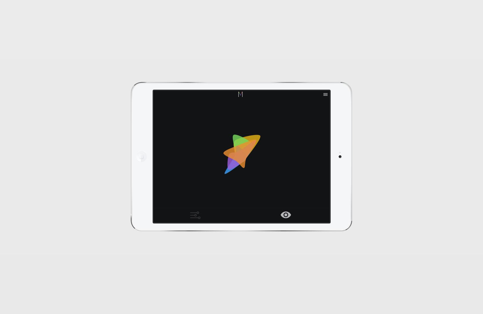 Mood Visualizer Tablet